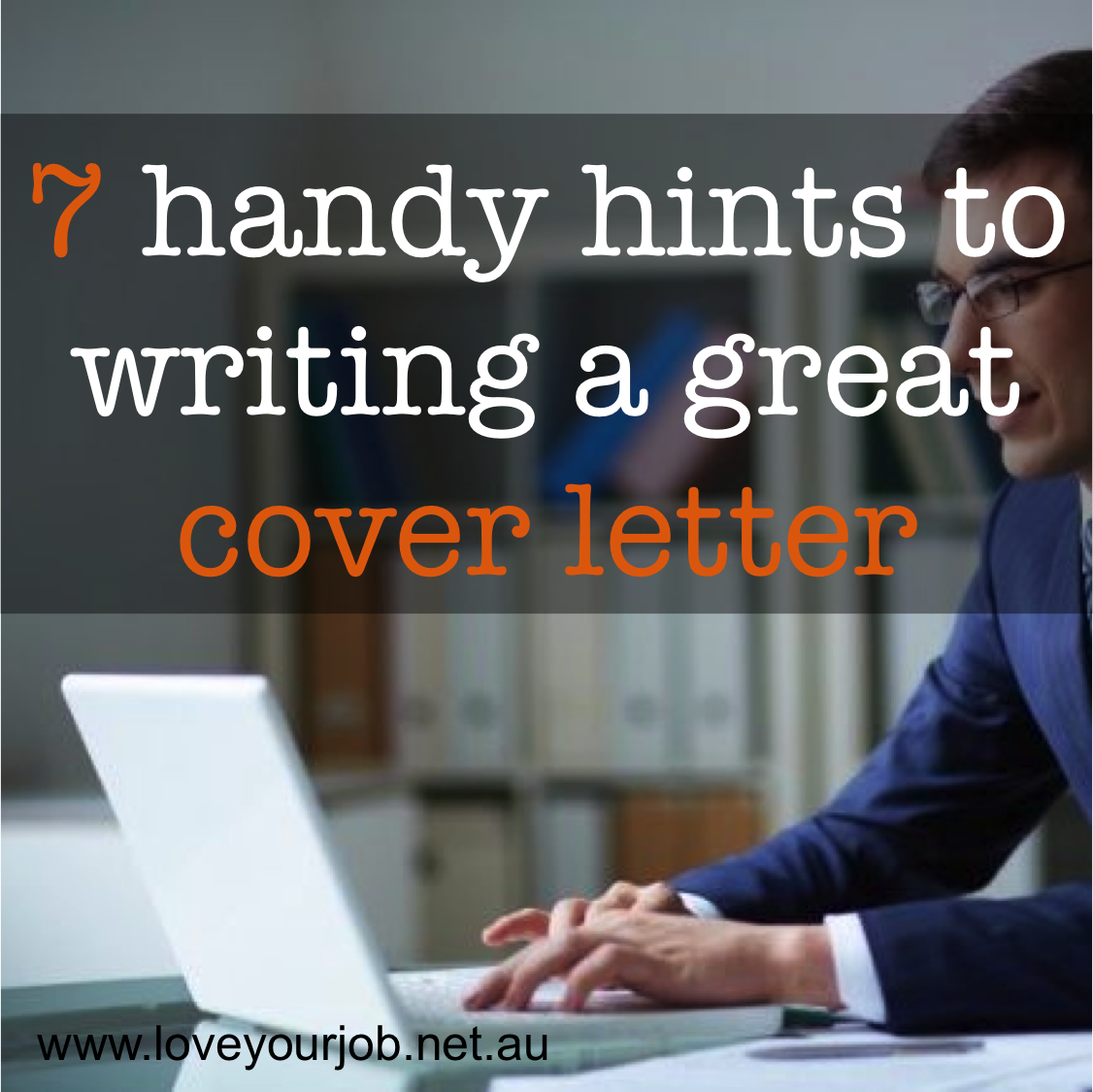 how to write a good cover letter for your first job